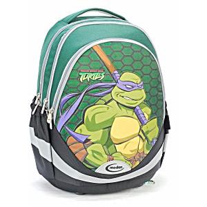 Школьный рюкзак – ранец Modan Ninja Turtles зеленый