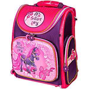 Школьный рюкзак – ранец HummingBird My Brilliant Pony K50 с мешком для обуви
