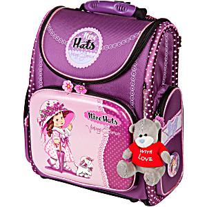 Школьный рюкзак – ранец HummingBird Nice Hats K88 с мешком для обуви