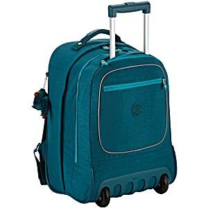 Рюкзак на колесах Kipling CLAS Soobin L цвет изумруд