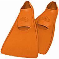 Ласты ProperCarry детские закрытая пятка для бассейна резиновые размер - 22 оранжевые ПРОПЕРКЭРРИ