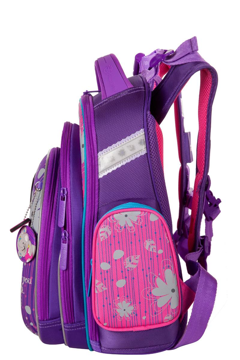 Школьный рюкзак Hummingbird TK55 официальный с мешком для обуви, - фото 3